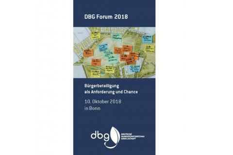 SWUP Gmbh Forums 2018 der Deutschen Bundesgartenschau Gesellschaft