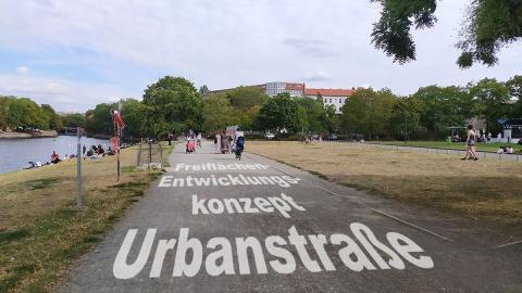 Freiflächen-Entwicklungskonzept Urbanstraße - Foto SWUP
