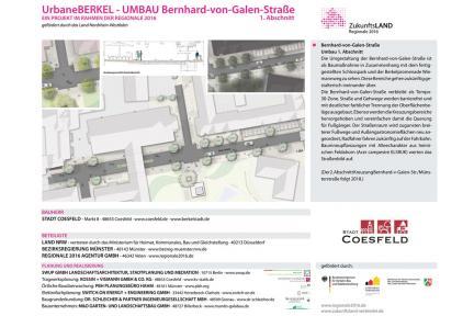 Bernhard-von-Galen-Straße Urbane Berkel