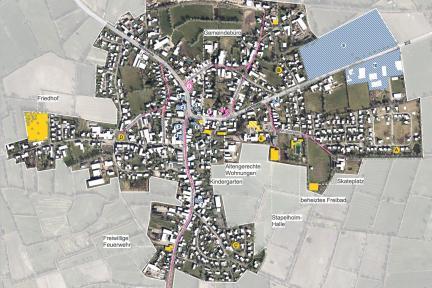 Orts(kern)entwicklungskonzept Erfde