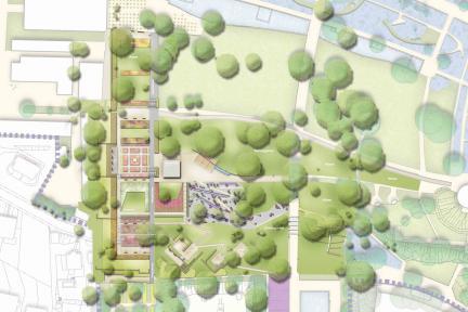 Schauplan Rosengarten