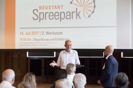 "2. Planungswerkstatt ""Spreepark Neustart"" Foto: Christo Libuda"