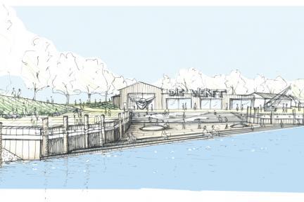 Friedrichskoog Die Werft Grafik