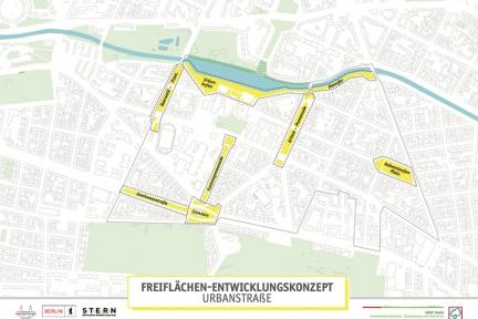 Freiflächen-Entwicklungskonzept Urbanstraße