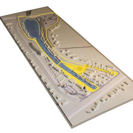 Modellbaustudie Friedrichskoog